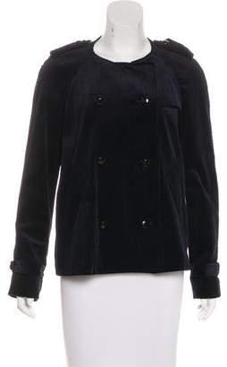 Etoile Isabel Marant Rib Knit Velvet Jacket w/ Tags