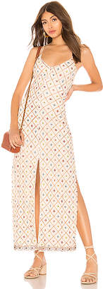 Tularosa Linda Embroidered Dress