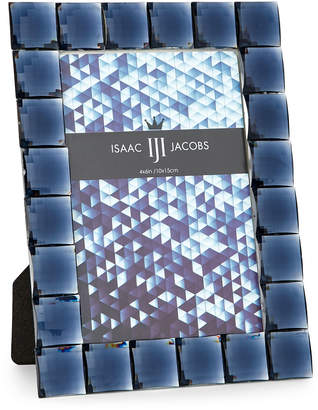 Isaac Jacobs Navy Jeweled Picture Frame