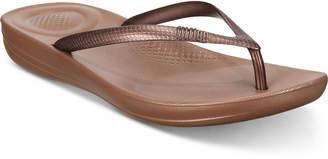 FitFlop Iqushion Flip-Flop Sandals Women Shoes