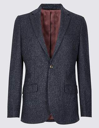 Marks and Spencer Big & Tall Pure Wool Tailored Fit Jacket