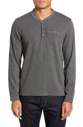 Ted Baker Slim Fit Mojave Thermal Pocket Henley