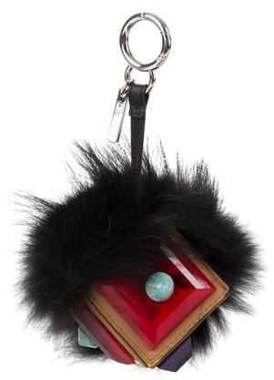 FendiFendi Occhi Prism Triangle Monster Bag Charm
