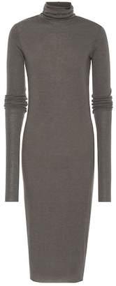 Rick Owens Lilies knit turtleneck dress