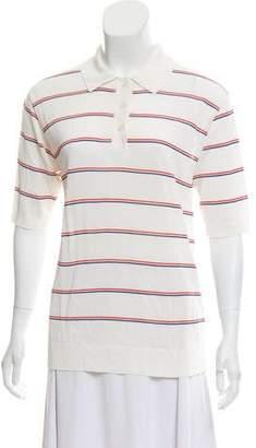 Kule Striped Polo Shirt w/ Tags