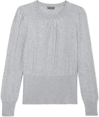 Vince Camuto Puff-shoulder Crewneck Sweater