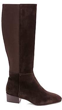 Aquatalia Women's Finola Suede Knee-High Boots