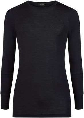 Hanro Woollen Silk Long Sleeve T-Shirt