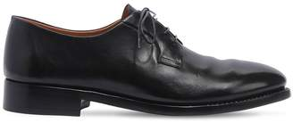 Alberto Fasciani Brushed Leather Derby Shoes