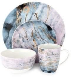 American Atelier 16-Piece Porcelain Dinnerware Set
