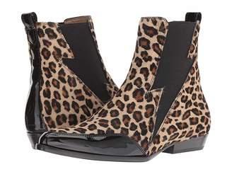 Belstaff Embleton Leopard Patent Mix Boot