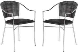 Safavieh Melita Arm Chair 2-piece Set