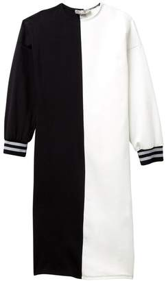 Couture Go Long Sleeve Colorblock Athletic Trim Dress (Big Girls)