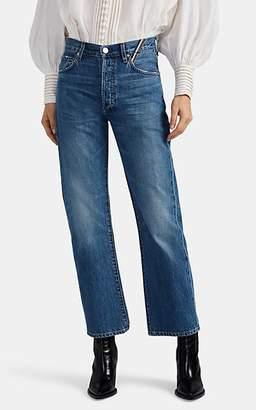Atelier Jean Women's Laurent Straight Jeans - Blue