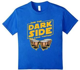 Join The Dark Side Timpani Player T-shirt