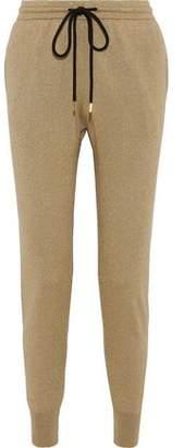 Markus Lupfer Metallic Cotton-blend Track Pants