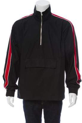 Stampd Striped Racing Anorack Jacket w/ Tags