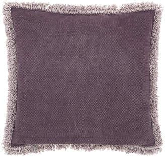 Nourison Mina Victory Life Styles Stonewash Fringe Throw Pillow