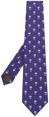 Church's hot air balloon embroidered tie