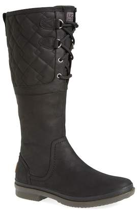 UGG Elsa Quilted Shearling Lined Waterproof Boot
