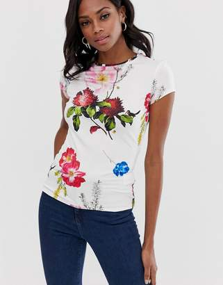 8859a9146 Ted Baker Fitted t-shirt in berry sundae