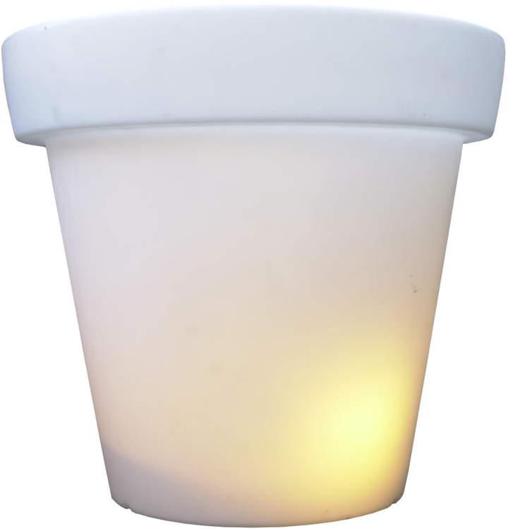 Bloom! - Pot mit Licht, Weiß, 90 cm