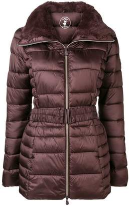 Save The Duck padded belted coat