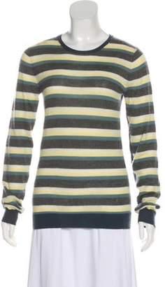 Proenza Schouler Cashmere Striped Sweater Grey Cashmere Striped Sweater