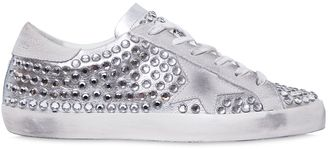 20mm Super Star Crystal Sneakers $775 thestylecure.com