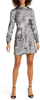 Ted Baker Colour by Numbers Colliz Long Sleeve Shirtdress