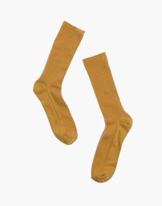 Madewell Night Sparkle Trouser Socks