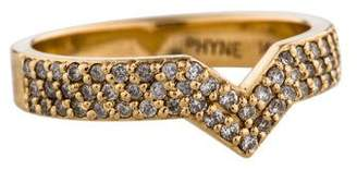 Paige Novick Phyne by 14K Diamond Elisabeth Stacking Ring