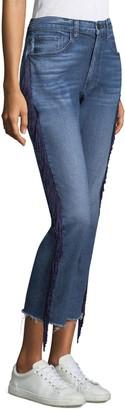 3x1 Higher Ground Fringe Crop Jeans