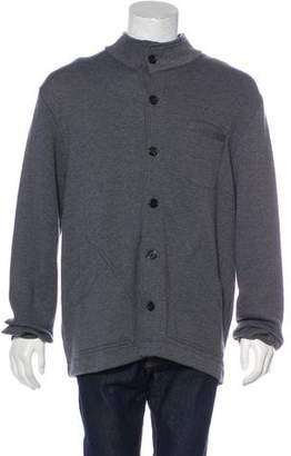 Billy Reid Knit Button-Up Coat