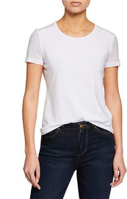 Anatomie Melissa Sheer-Panel Short-Sleeve T-Shirt