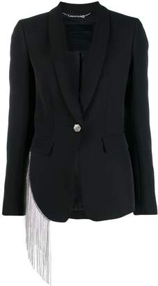 Philipp Plein single-breasted fitted blazer