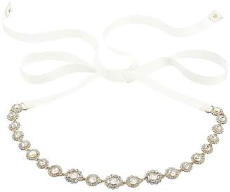 Kate Spade 3/4 Jewelry Tie-Back Bridal Belt Women's Belts