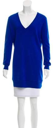 Proenza Schouler Long Sleeve V-Neck Sweater