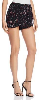Aqua Tiered Floral Print Shorts - 100% Exclusive
