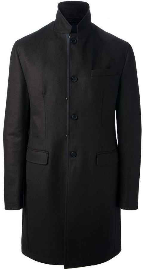 Bikkembergs single breasted coat