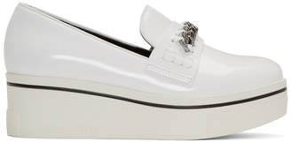 Stella McCartney White Binx Loafers