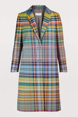 Dries Van Noten Checked coat