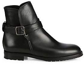 Manolo Blahnik Women's Sulgamba Leather Ankle Boots