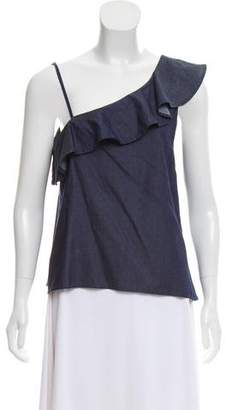 McGuire Denim One-Shoulder Chambray Top w/ Tags