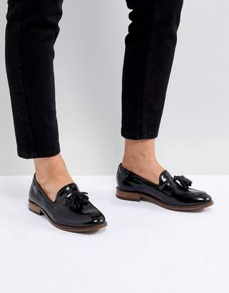 H By Hudson Leather Tassle Flat Shoes