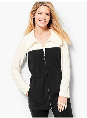 Talbots Colorblock Anorak Jacket
