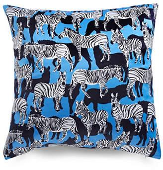 Kate Spade Zebra-Printed Square Pillow
