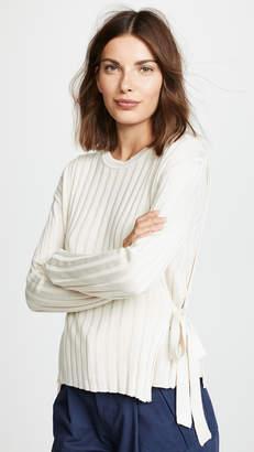 Moon River Tie Side Sweater