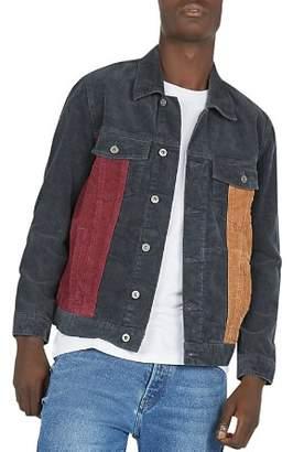 Barney Cools B.Rigid Color-Block Corduroy Jacket