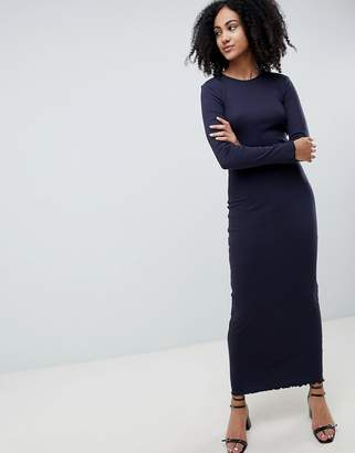 Only Ribbed Jersey Maxi Dress